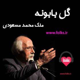 آلبوم گل بابونه ملک محمد مسعودی